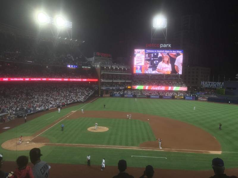 PETCO Park, section: 207, row: 7, seat: 11