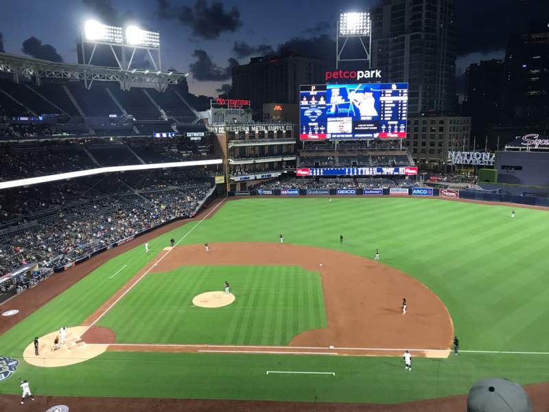 Seating view for PETCO Park Section 309 Row 2 Seat 13
