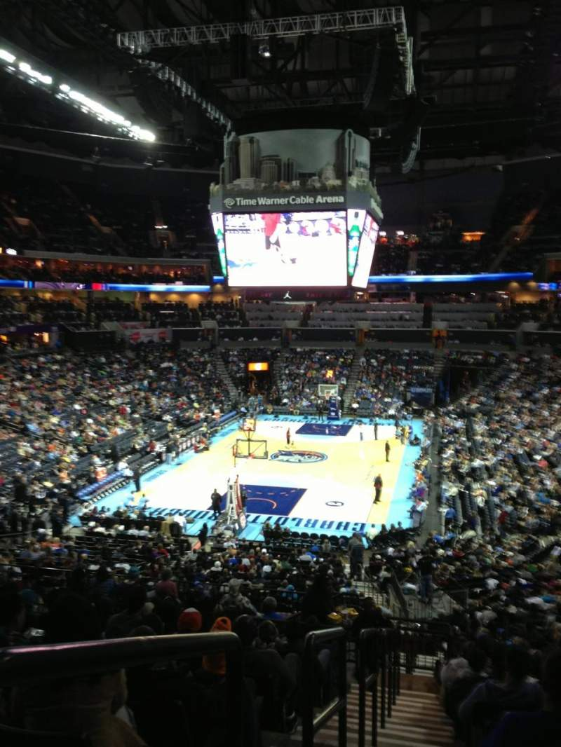 Seating view for Spectrum Center Section 117