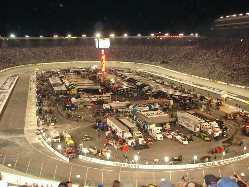 Seating view for Bristol Motor Speedway Section Kulwicki Grandstand M Row 30 Seat 1