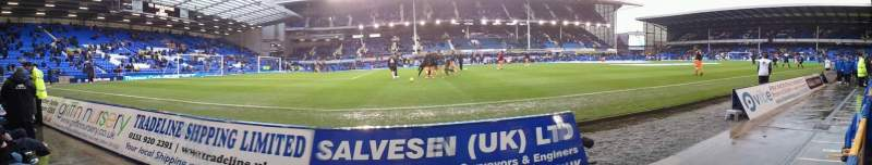 Seating view for Goodison Park Section Away
