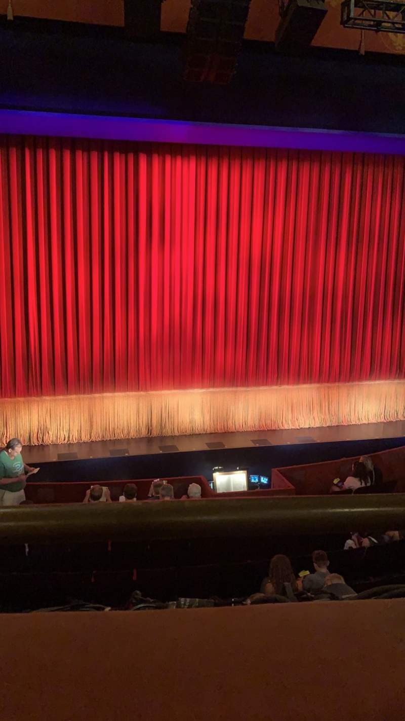 Seating view for Longacre Theatre Section Mezzanine C Row A Seat 113