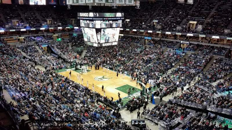 Seating view for BMO Harris Bradley Center Section 416 Row N Seat 10
