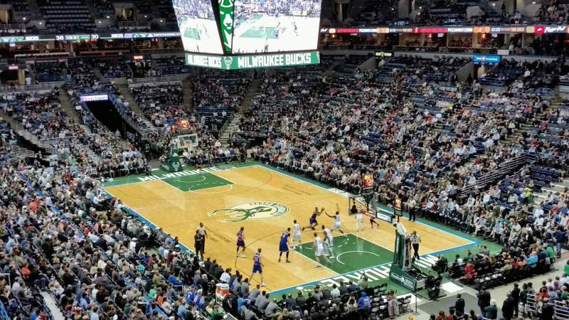 Seating view for BMO Harris Bradley Center Section 437 Row C Seat 6