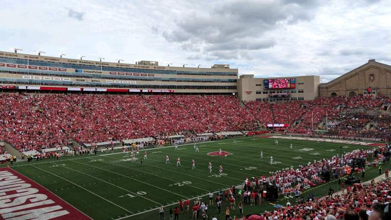 Seating view for Camp Randall Stadium Section I Row 47 Seat 6