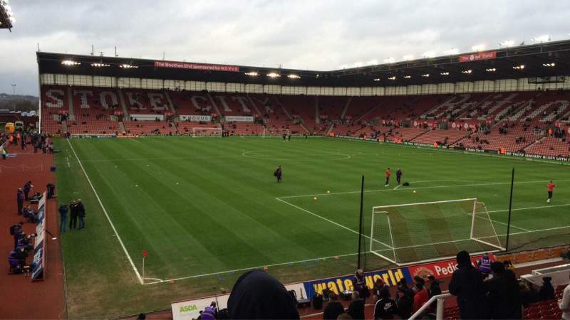 Seating view for bet365 Stadium Section 40 Row 20 Seat 999