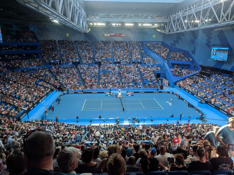 Seating view for Perth Arena Section 306 Row U Seat 6