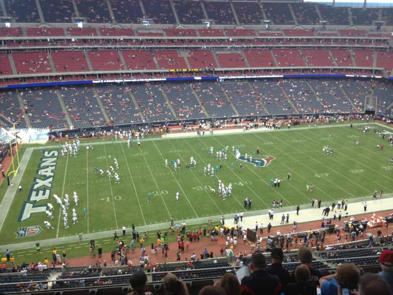 Seating view for NRG Stadium Section 511 Row M Seat 10