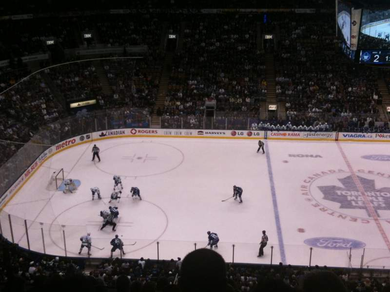 Seating view for Air Canada Centre Section 310 Row 9 Seat 9