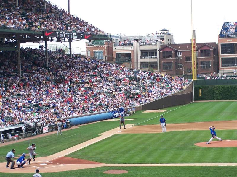 Seating view for Wrigley Field Section 228