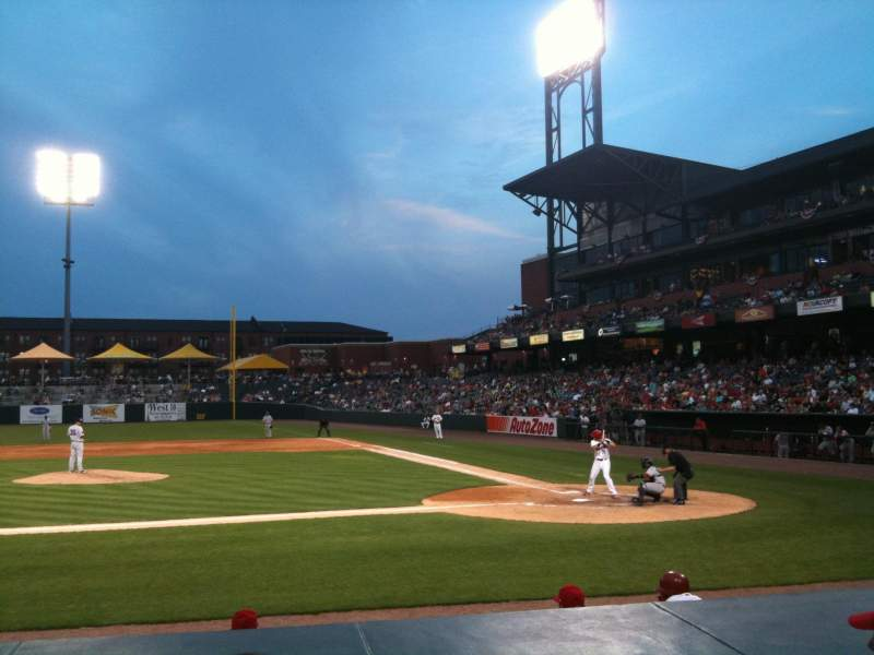 Seating view for Autozone Park Section 108