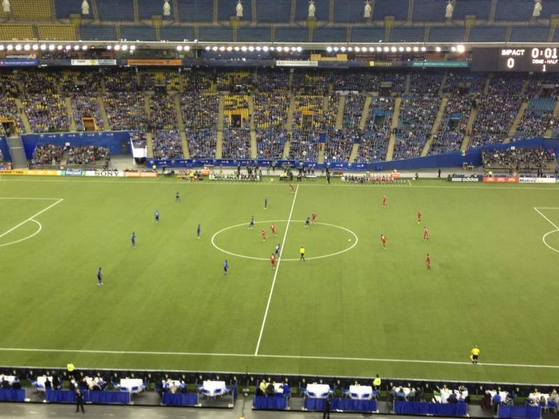 Seating view for Olympic Stadium, Montreal Section 441 Row DD Seat 5