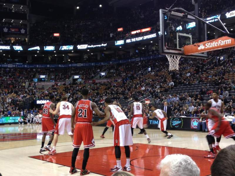 Seating view for Air Canada Centre Section CRTE Row C Seat 22