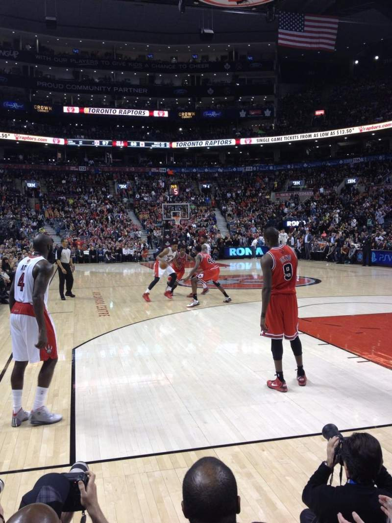 Seating view for Scotiabank Arena Section CRTE Row C Seat 22