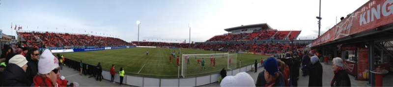 Seating view for BMO Field Section Beer Garden