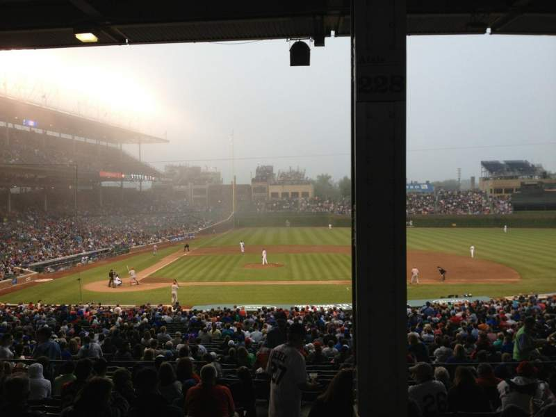 Wrigley Field Section 228 Home Of Chicago Cubs