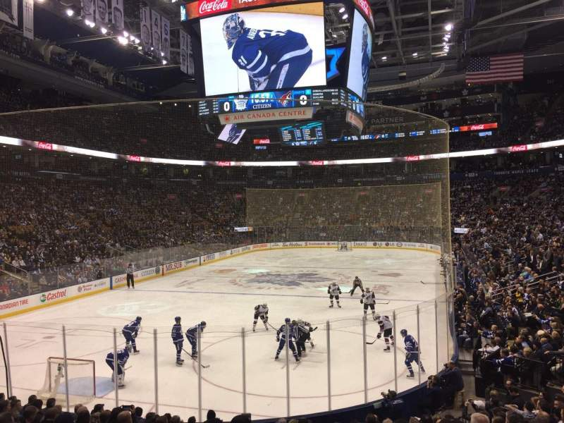 Seating view for Scotiabank Arena Section 101 Row 18 Seat 19