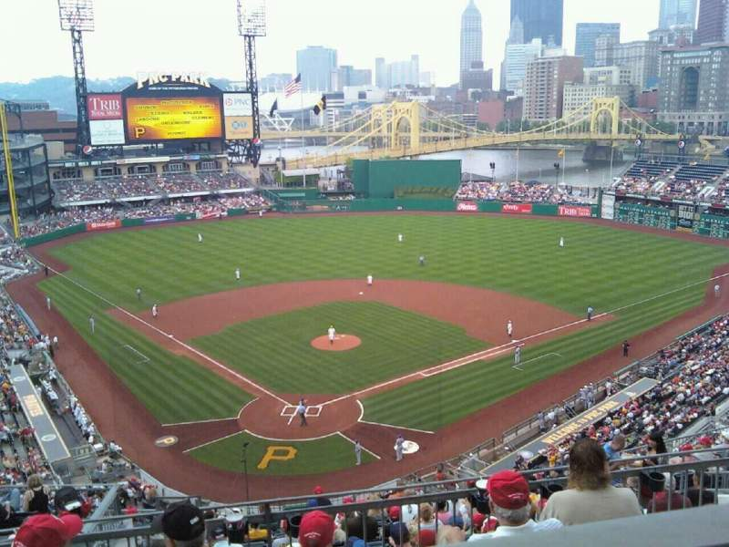 Seating view for PNC Park Section 212