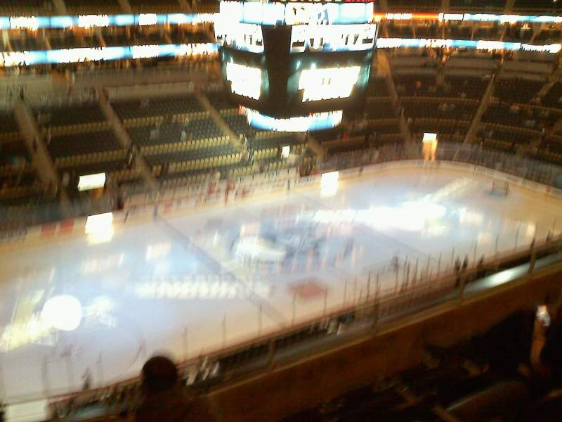 Seating view for PPG Paints Arena Section 222 Row e Seat 13