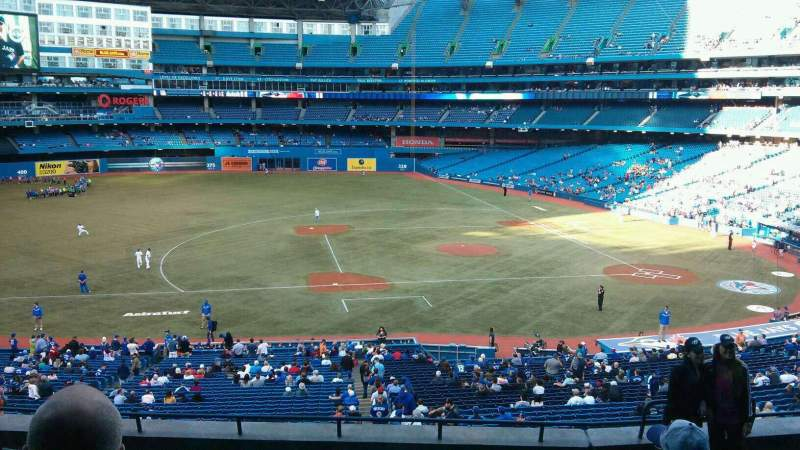 Seating view for Rogers Centre Section 230L Row 9 Seat 106