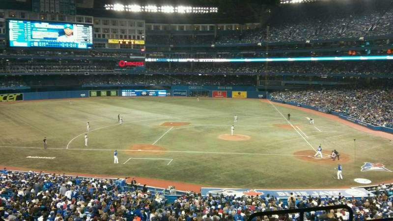 Seating view for Rogers Centre Section 228L Row 5 Seat 102