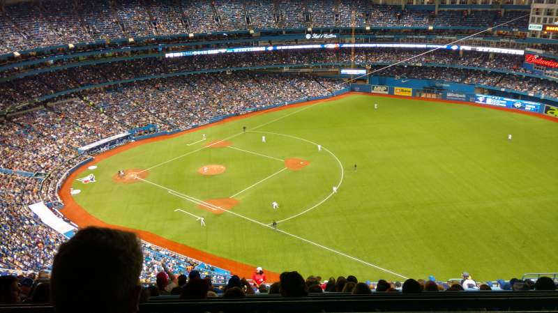 Seating view for Rogers Centre Section 514R Row 26 Seat 6