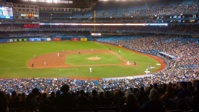 Seating view for Rogers Centre Section 219L Row 13 Seat 102