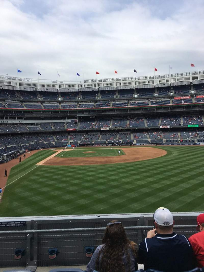 Seating view for Yankee Stadium Section 206 Row 4 Seat 15