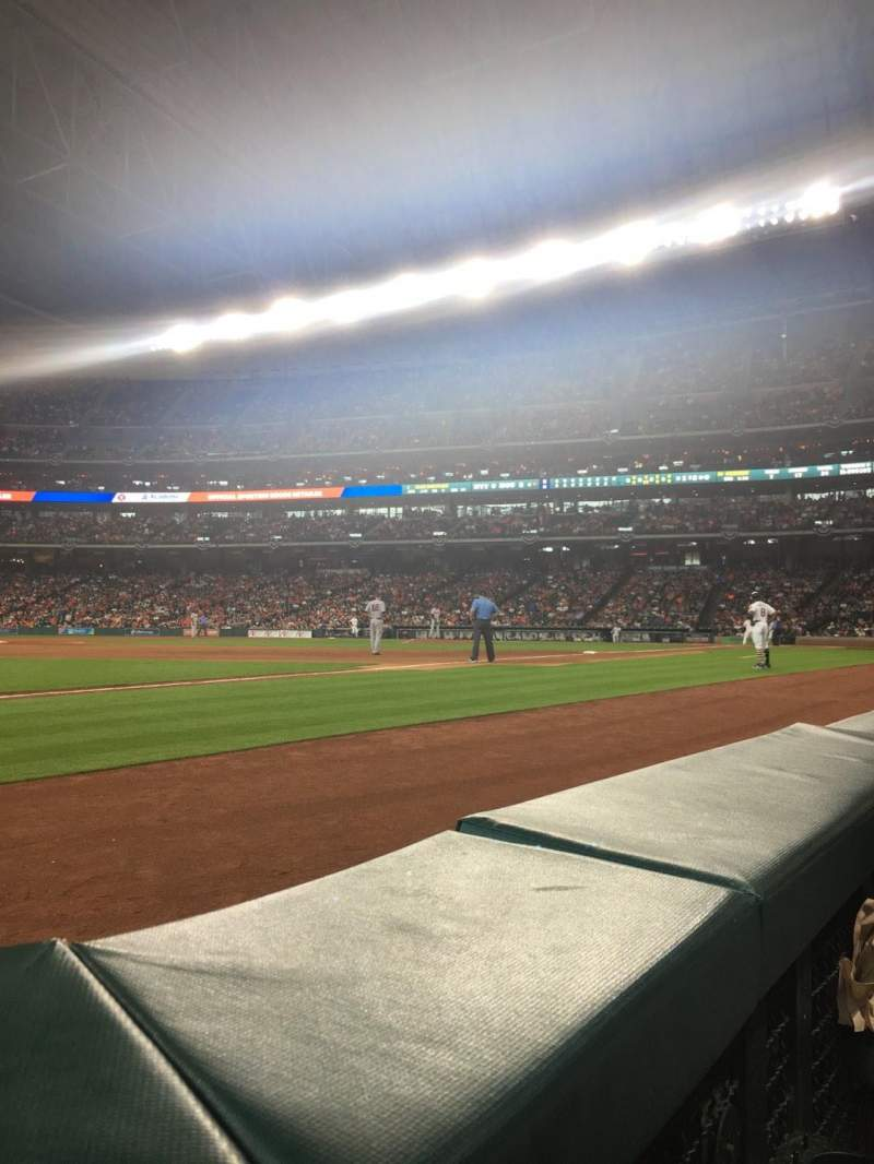 Minute Maid Park, section: 109, row: 1, seat: 6