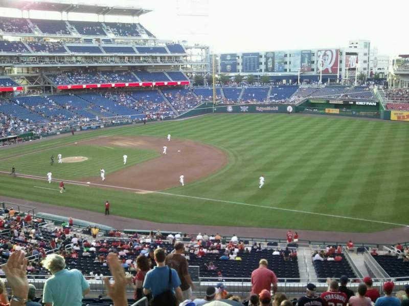 Seating view for Nationals Park Section 225 Row n Seat 19