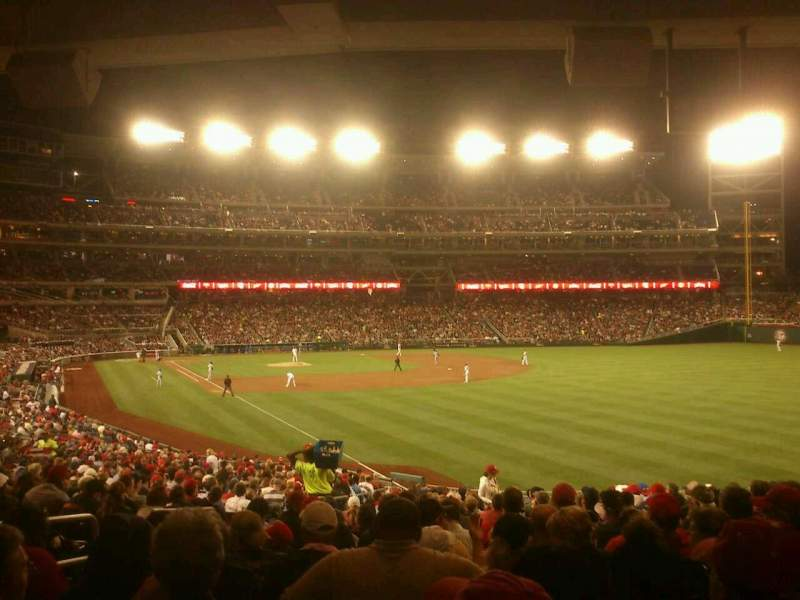 Seating view for Nationals Park Section 137 Row rr Seat 29