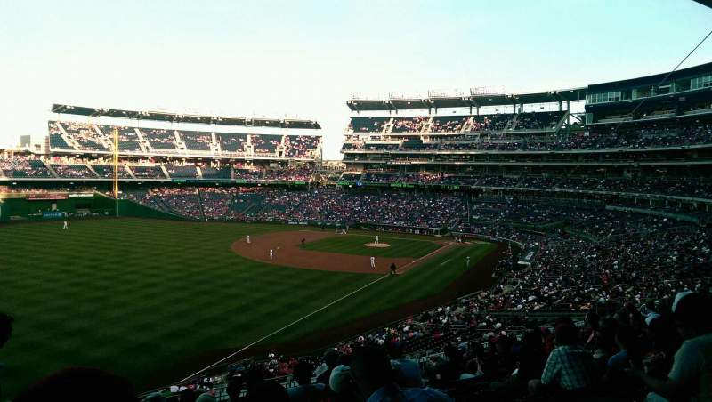 Seating view for Nationals Park Section 202 Row K Seat 26