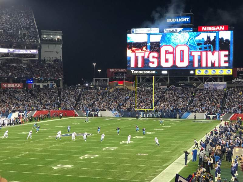 Seating view for Nissan Stadium Section 143 Row GG Seat 16