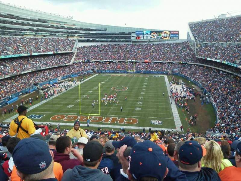 Seating view for Soldier Field Section 350 Row 15