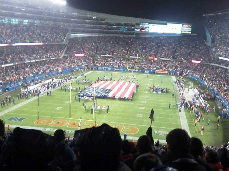 Seating view for Soldier Field Section 350
