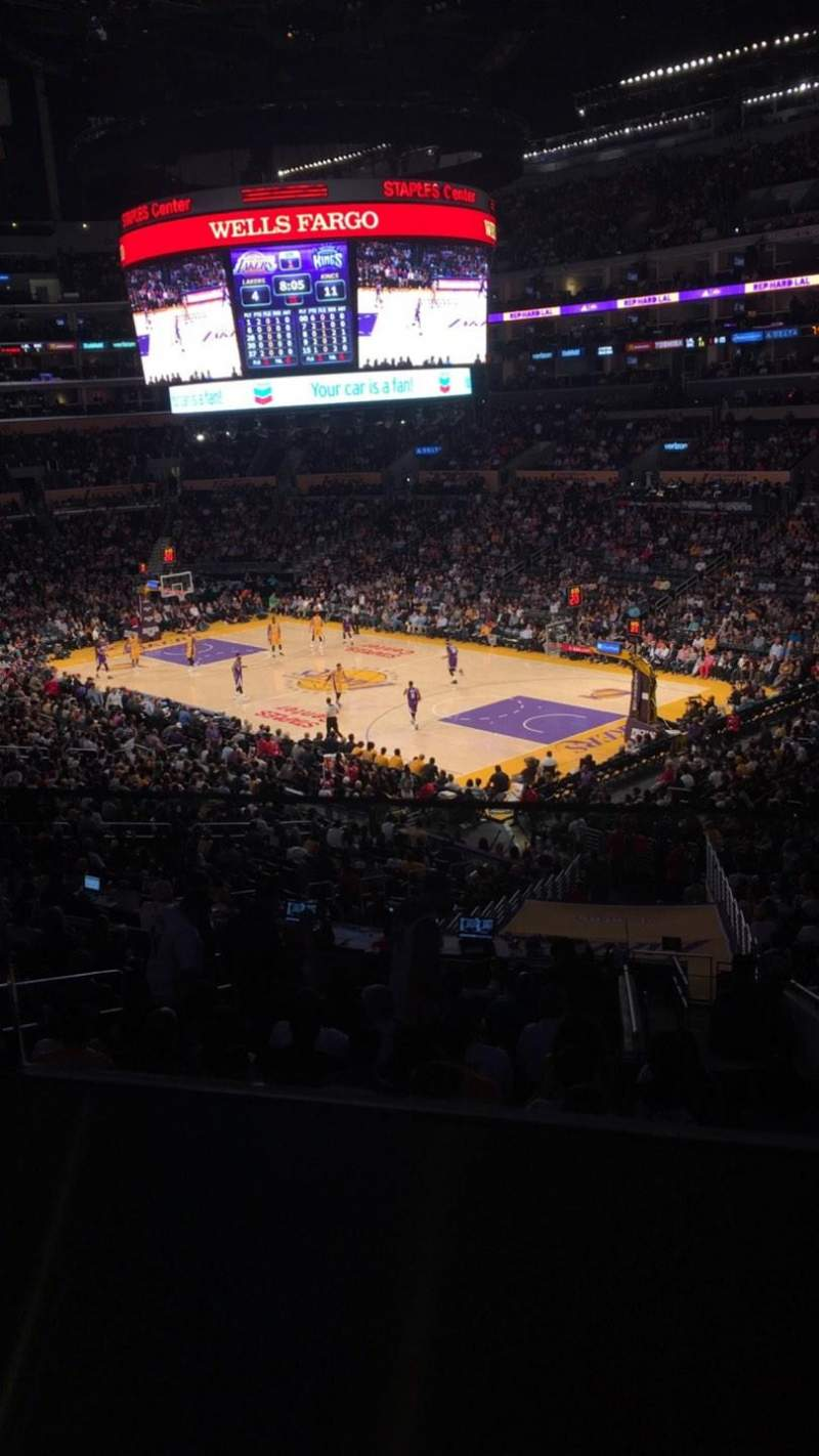 Seating view for Staples Center Section Suite A2 Row GA Seat 8