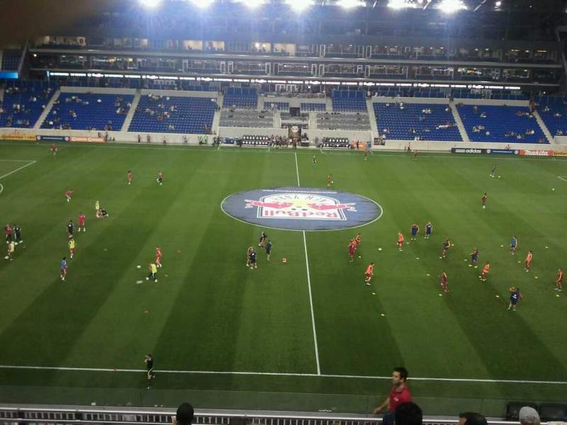 Seating view for Red Bull Arena Section 226 Row 11 Seat 11