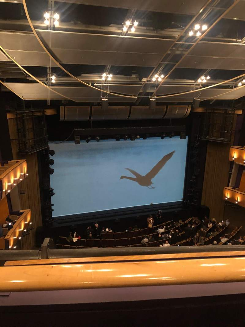 Seating view for Ahmanson Theatre Section Balcony Row A Seat 35