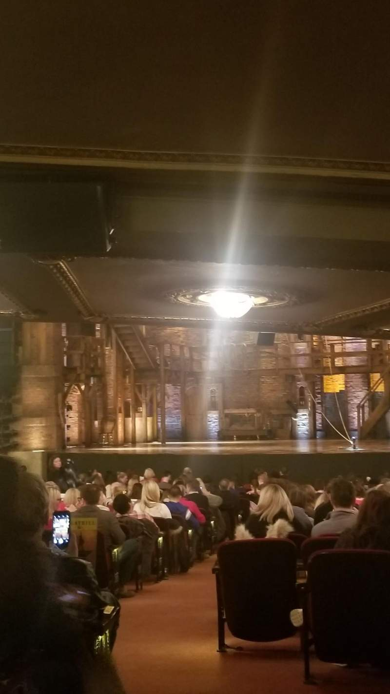 Seating view for CIBC Theatre Section Orchestra L Row ZZ Seat 2