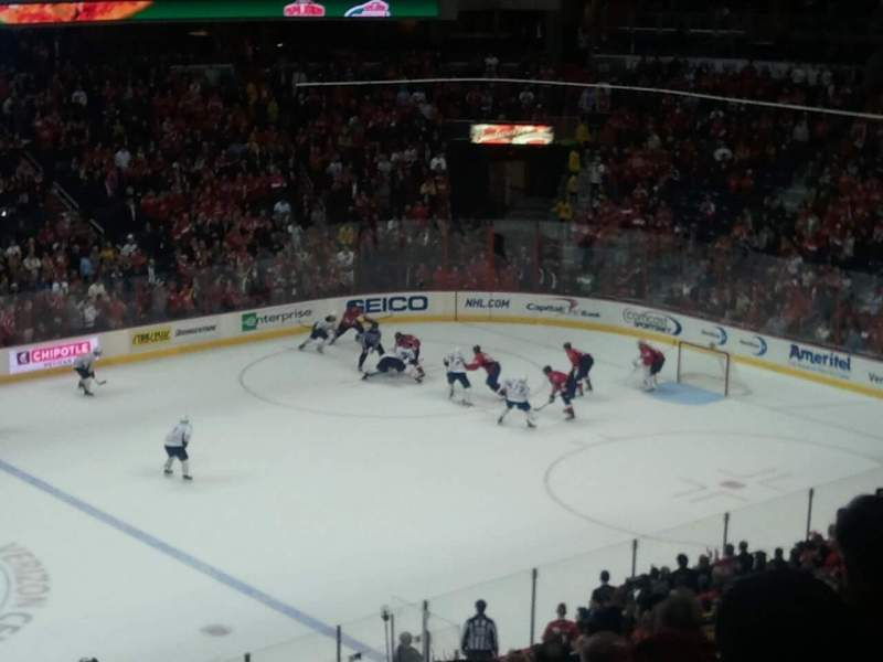 Seating view for Verizon Center Section 213