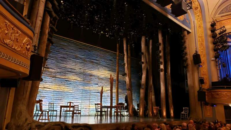 Seating view for Gerald Schoenfeld Theatre Section Orchestra L Row G Seat 17