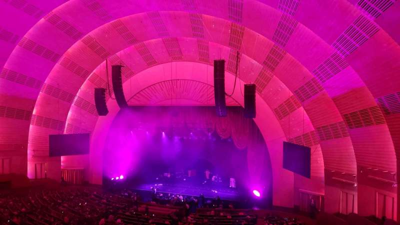 Seating view for Radio City Music Hall Section 2nd Mezzanine 2 Row D Seat 203