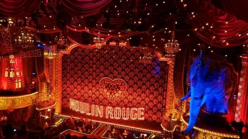 Seating view for Al Hirschfeld Theatre Section Mezzanine R Row J Seat 4