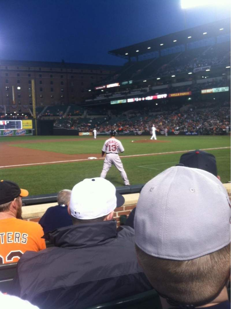 Seating view for Oriole Park At Camden Yards Section 56 Row 5 Seat 8