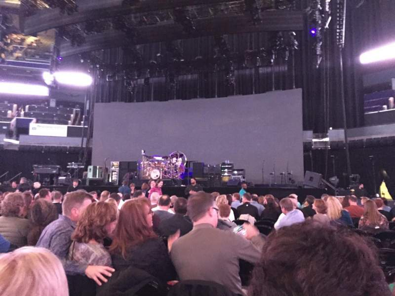 Seating view for Spectrum Center Section F1 Row B Seat 8