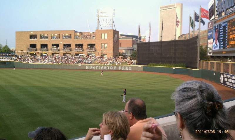 Seating view for Huntington Park Section 1 Row 15 Seat 10