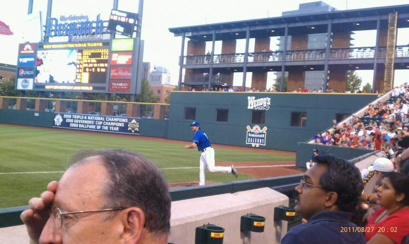 Seating view for Huntington Park Section 4 Row 2 Seat 9