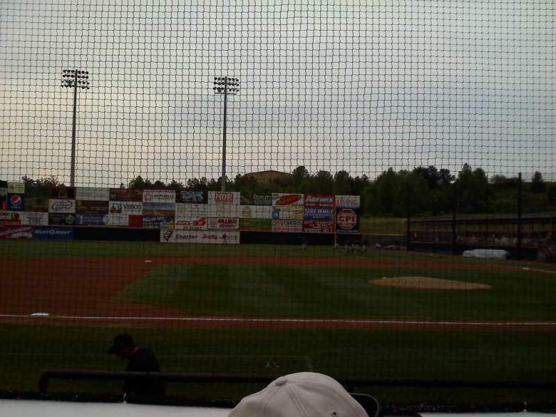 Seating view for L.P. Frans Stadium Section n Row 5 Seat 11