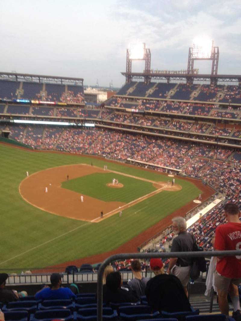 Seating view for Citizens Bank Park Section 432 Row 7 Seat 4