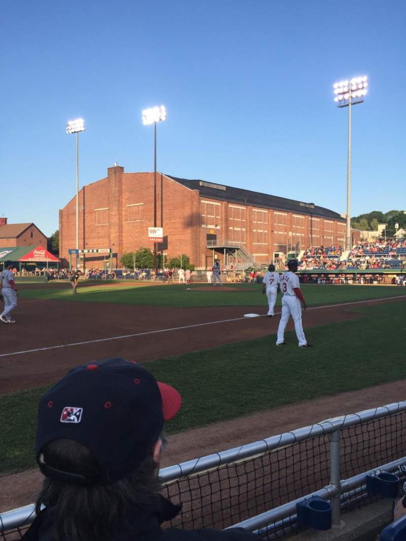Seating view for Hadlock Field Section 113 Row B Seat 10
